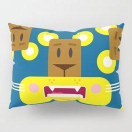 Cute Cartoon Lioness Pattern Pillow Sham