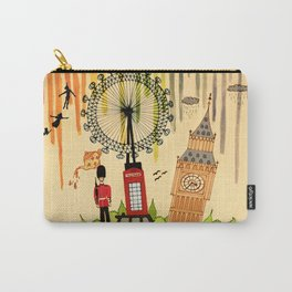 Rainbow Cities ~ London Carry-All Pouch
