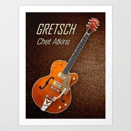 Gretsch  Chet Atkins Art Print