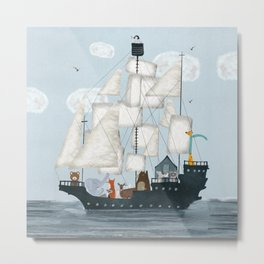 a nautical adventure Metal Print