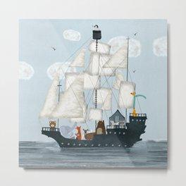 a nautical adventure Metal Print