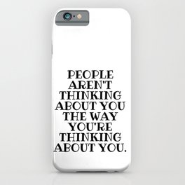 People Aren't Thinking, Schitts Creek, Alexis Rose iPhone Case