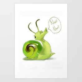 Noot! Noot! Art Print