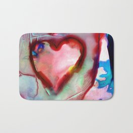 Heart Dreams 4H by Kathy Morton Stanion Bath Mat