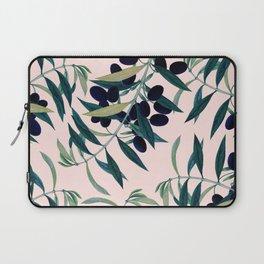 Olive Branch Pattern #society6 #decor #buyart Laptop Sleeve