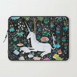 The Unicorn is Reading Laptop Sleeve