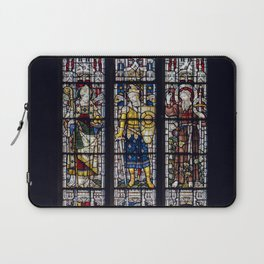 Good Knight Stained Glass Window Stratford Upon Avon England Laptop Sleeve