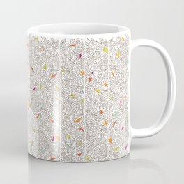 Little Triangles Pattern Coffee Mug