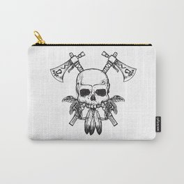 Tomahawk Skull Carry-All Pouch