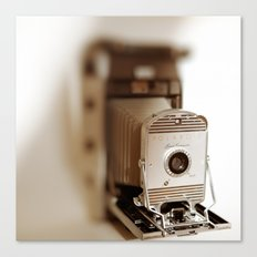 Polaroid 800 vintage camera Canvas Print