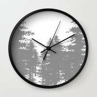 forrest gump Wall Clocks featuring Forrest by Dan Parker