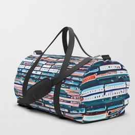 Cool patterns ~ Train Jam Duffle Bag