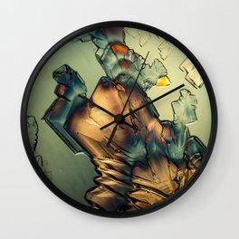 Micrograph 2 Wall Clock
