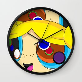 BUBBLES MAGNIFY Wall Clock