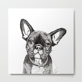 Frenchy is Your Friend Metal Print
