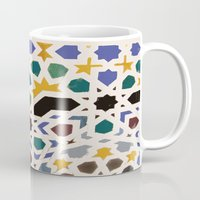 escher Mugs featuring Escher Inspiration by Nancy Smith