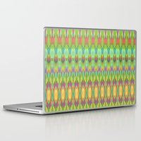 ikat Laptop & iPad Skins featuring Ikat  by Amber Nuttall
