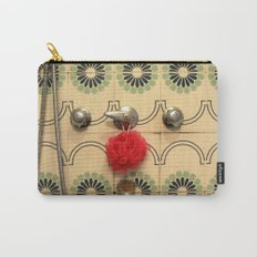 the vintage bathroom Carry-All Pouch