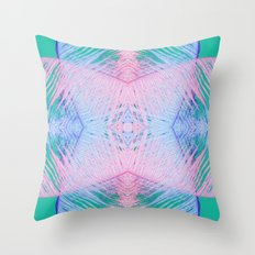 Tropical Palm Throw Pillow