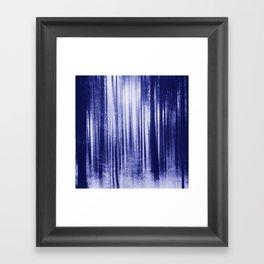 Indigo Woods Framed Art Print