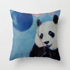 Panda Party Throw Pillow