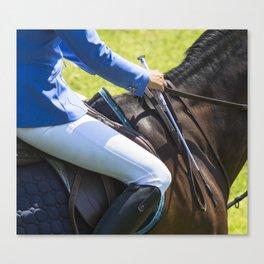 Horse Jumping I Canvas Print