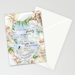 Daughter of the Forest - You Are What You Are Stationery Cards