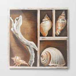 Ted Broome - From the Ocean I Metal Print