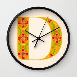 D - Amarilis Wall Clock