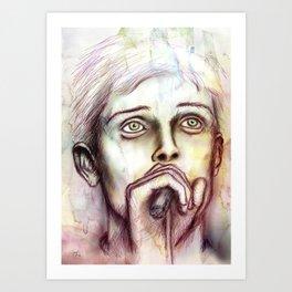 Ian  Art Print