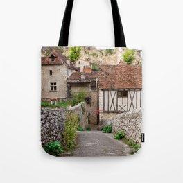 Wandering through Saint Cirq Lapopie Tote Bag