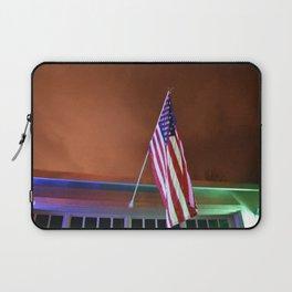Patriotic at dusk Laptop Sleeve