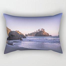 The Cove At Sunset Rectangular Pillow