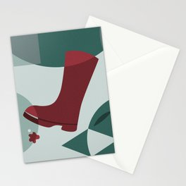 The Boot Stationery Cards