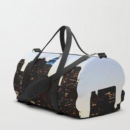 new york city skyline building Duffle Bag