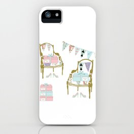 A French Dress Shop iPhone Case