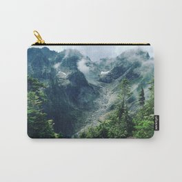 Mountain through the clouds Carry-All Pouch