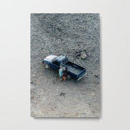 camion Metal Print