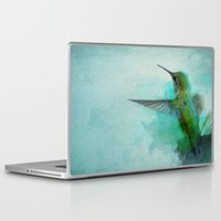 hummingbird Laptop & iPad Skins featuring Hummingbird by Marvelis