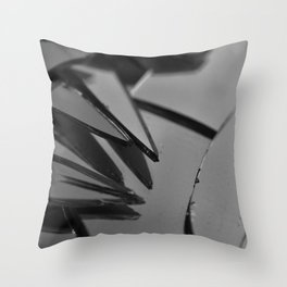 Superstitious Noir Throw Pillow