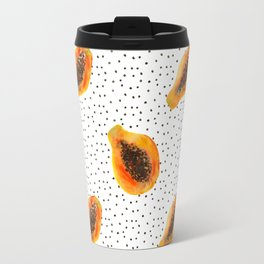 Papaya vibes  Travel Mug