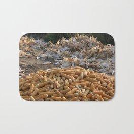 Sweet Corn and Husks Bath Mat