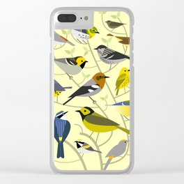 New World Warblers 2 Clear iPhone Case