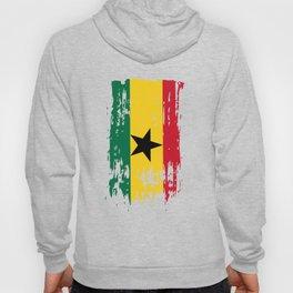GH GHA Ghana Flag Hoody