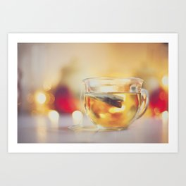 . tea . Art Print