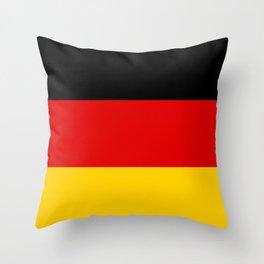 Flag of Germany - German Flag Throw Pillow