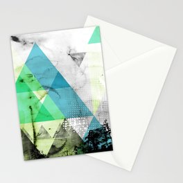 Abstract Geometry V3  Stationery Cards