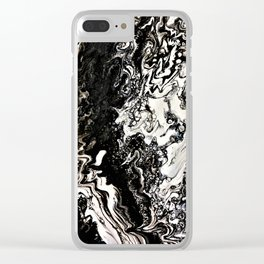 Positive or negative, you choose Clear iPhone Case
