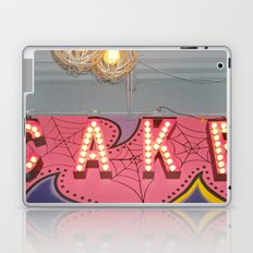 Cake ~ pop carnival signage Laptop & iPad Skin