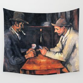 Paul Cézanne - The Card Players Wall Tapestry